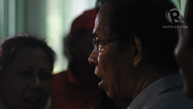 WHERE IS HE? Retired Maj Gen Jovito Palparan, in this file photo, remains at large while his two co-accused are denied bail. File photo by Rappler